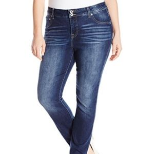 Lucky Brand Emma Straight Leg Jeans Plus